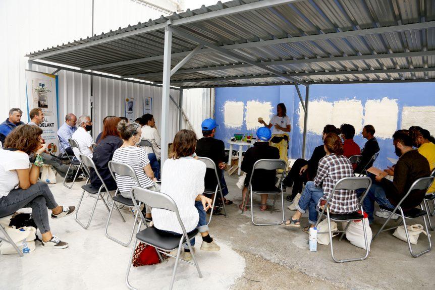 Primer taller práctico de cal de Marrakech