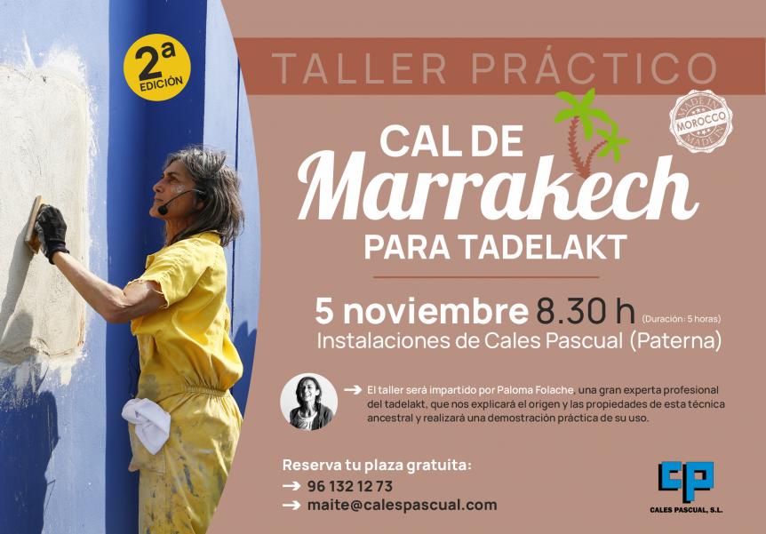 Segunda edición del taller de Cal de Marrakech