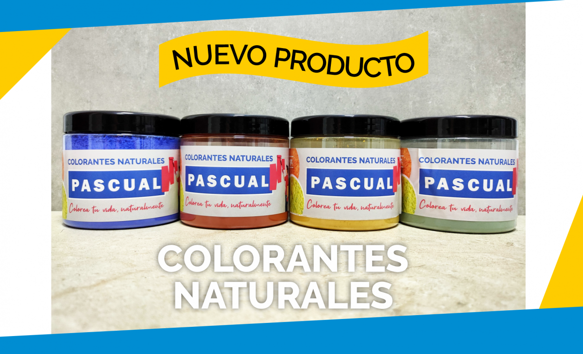 Colorantes naturales Pascual